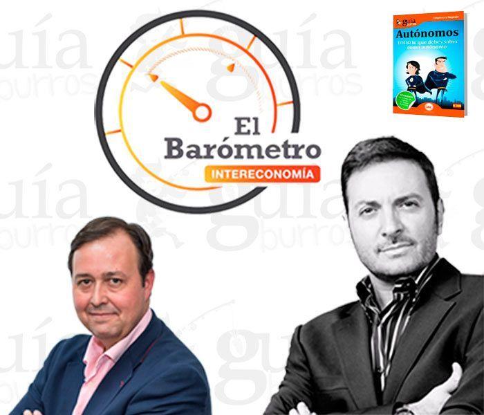 """Borja Pascual presenta su libro en """"El Barómetro"""" de Albert Castillón"""