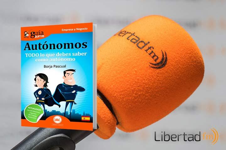 GuíaBurros para autónomos en «Las Mañanas en Libertad» de LibertadFM