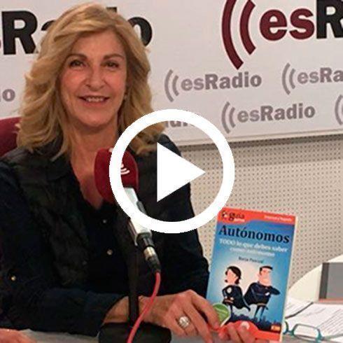 """""""Economía para todos"""" de esRadio se hace eco del GuíaBurros para autónomos"""