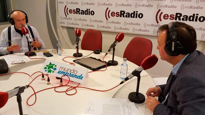 """Editatum en """"La Lanzadera"""" de Mundo Emprende (esRadio)"""