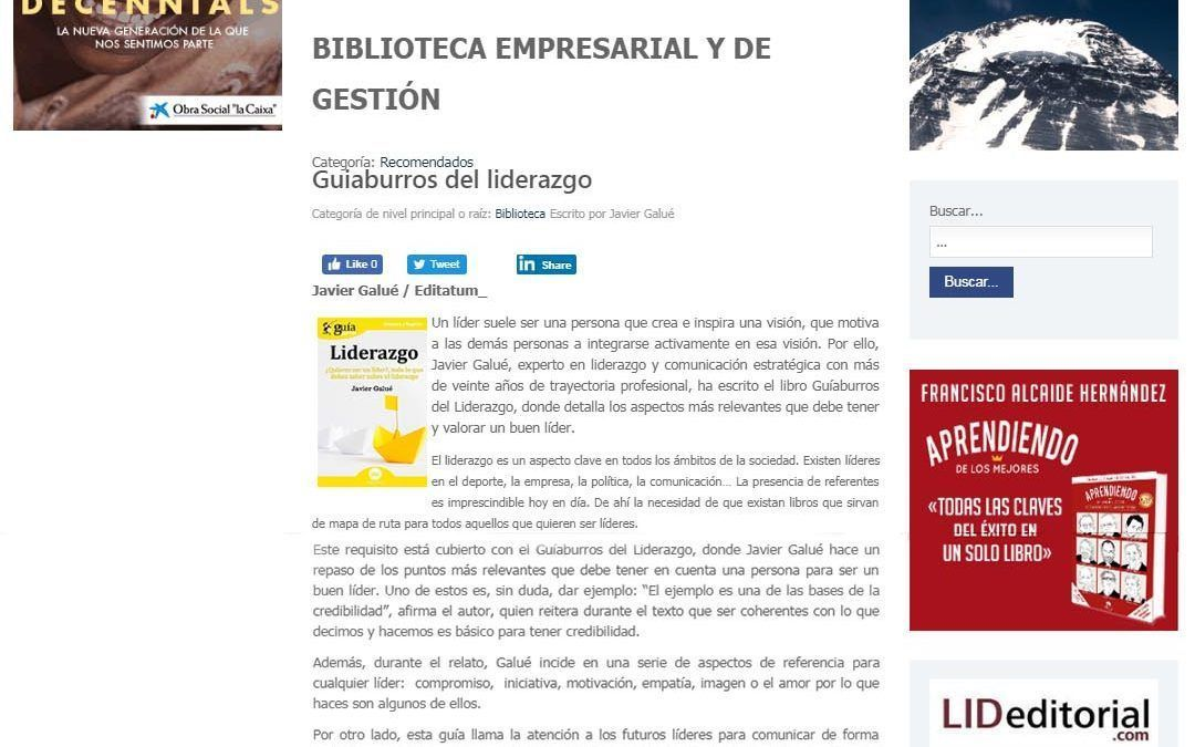 GuíaBurros: Liderazgo en la revista Executive Excellence