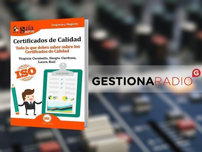 Sergio Cardona, autor del GuíaBurros: Certificados de Calidad en Primera Hora 2, con María José Bosch