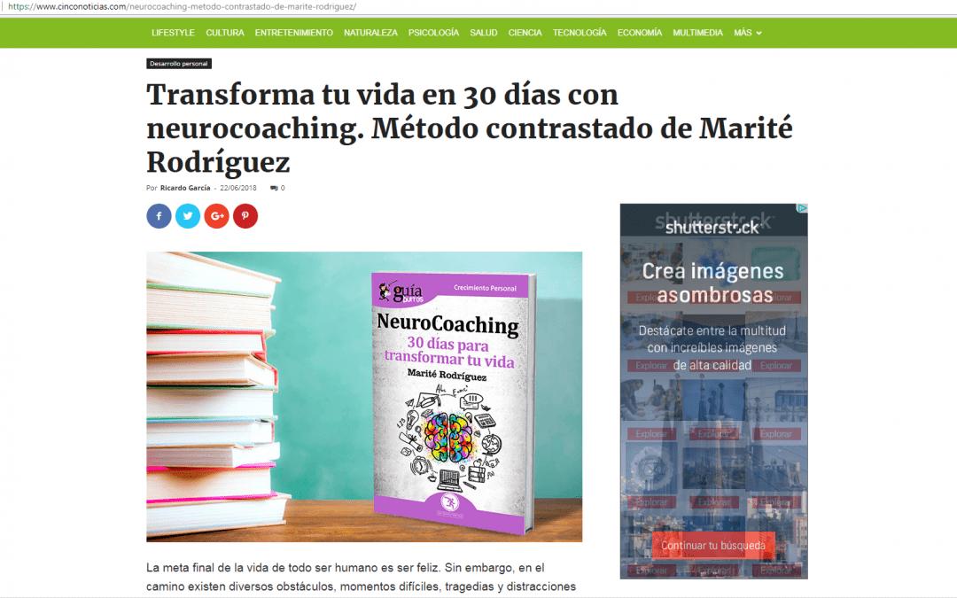 GuíaBurros: Neurocoaching, en el portal online Cinco Noticias