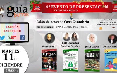IV Evento de Presentación de la innovadora colección de EDITATUM.
