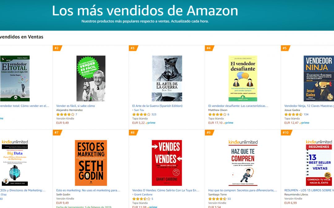 El GuíaBurros: El vendedor total alcanza el Nº1 en ventas en la plataforma Amazon