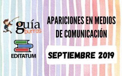 Clipping GuíaBurros SEPTIEMBRE 2019