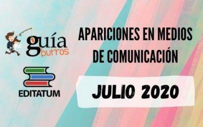 Clipping GuíaBurros JULIO 2020