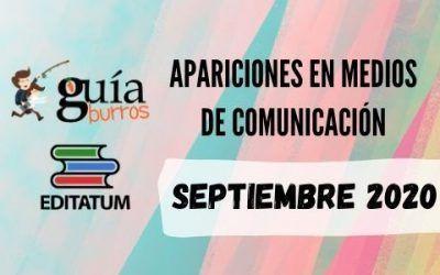Clipping GuíaBurros SEPTIEMBRE 2020