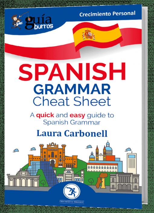 GuíaBurros: Spanish Grammar Cheat Sheet